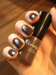 George Movie Star with glossy top coat